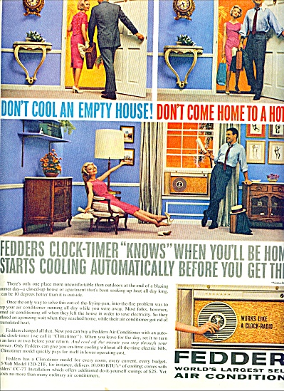 Fedders air conditioner ad 1961 (Image1)