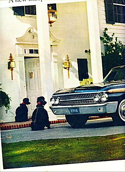 Ford automobile for 1961 ad (Image1)