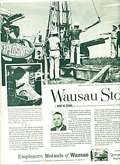 Employers Mutuals of Wausau ad 1961 (Image1)
