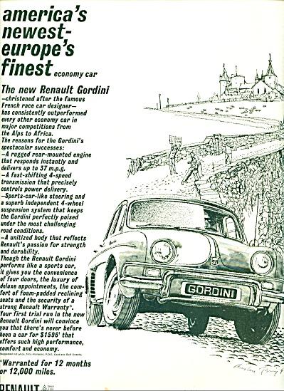 Renault gordini automobile ae 1961 (Image1)
