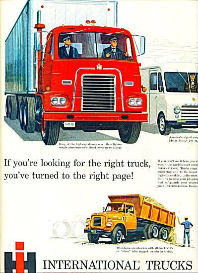 International trucks ad 1960 (Image1)