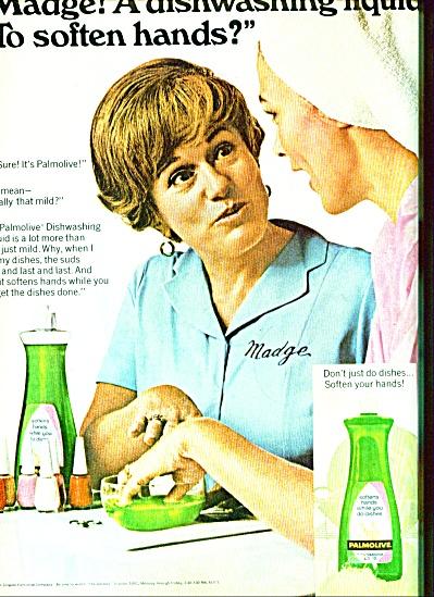 Palmolive dish soap -  Madge 1969 (Image1)