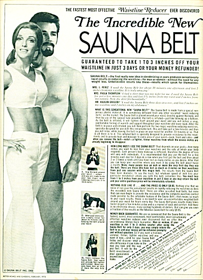 New Sauna belt ad 1970 (Image1)