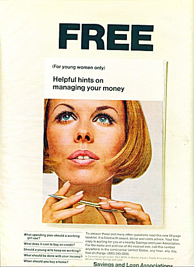 Savings and Loan Associations ad 1968 (Image1)