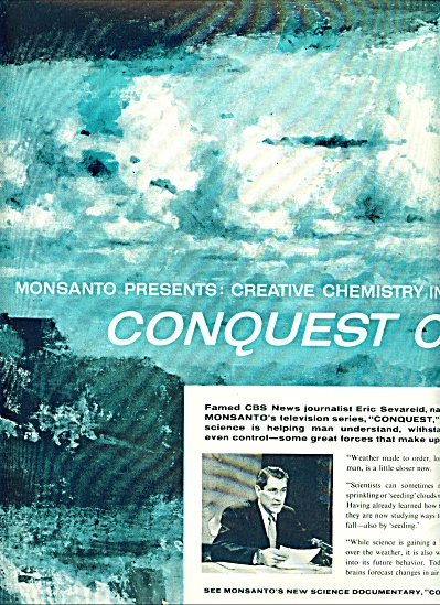 Conquest of Weather - Monsanto ads 1958 (Image1)