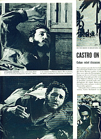 FIDEL CASTRO  on eve of big bid story 1958 (Image1)