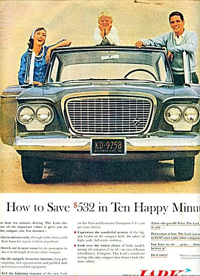 1961 - Studebaker lark automobile ad (Image1)
