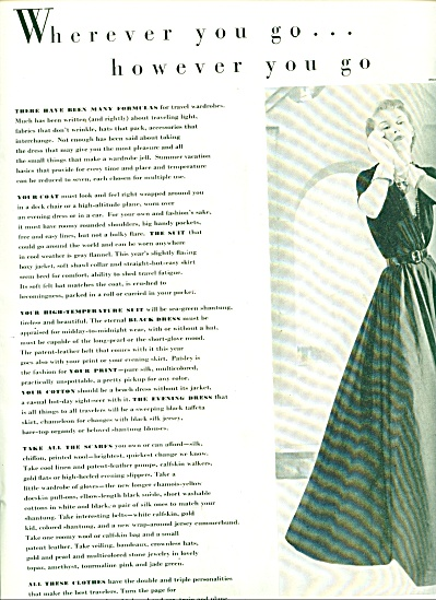 1948 -  Fashions for Whereever you go. (Image1)