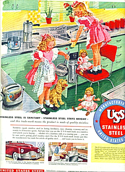 1948 - United Statess steel stainless ad (Image1)