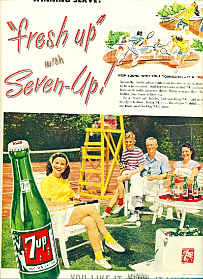 1948 -  7-Up drink ad (Image1)