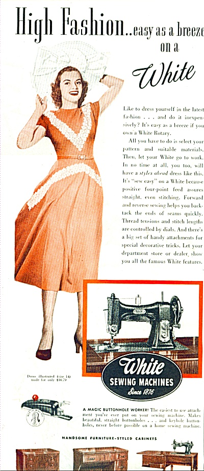 1948 - White sewing machines ad (Image1)