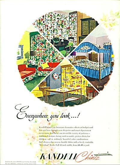 1948 - Kandell Chintz everglaze ad (Image1)