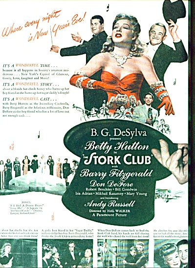 1945 - Movie - Stork Club - BETTY HUTTON (Image1)