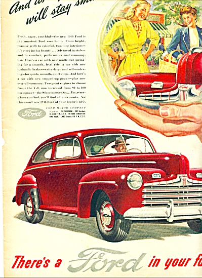 1946 - Ford automobile ad (Image1)