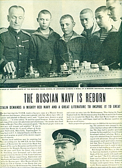 1945 - The Russian Navy is reborn story (Image1)
