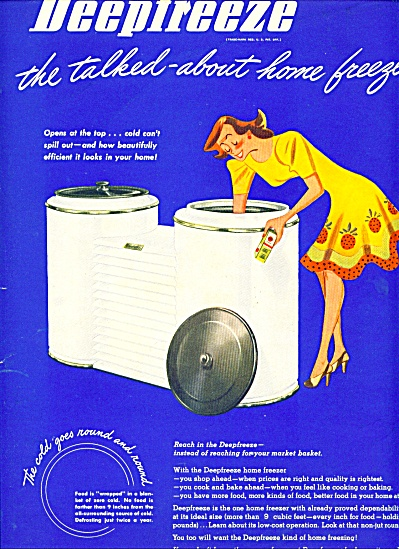 1945 - Deepfreeze home freezer ad (Image1)