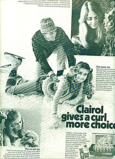1971 - Clairol HAIRSETTE AD MODEL SANDY (Image1)