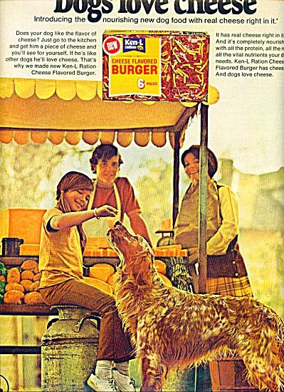 1971 - Ken-L Ration for dogs ad (Image1)