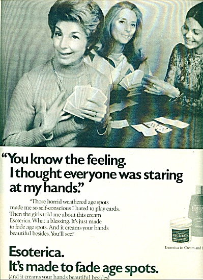 1971  Esoterica in Cream and Lotion ad (Image1)