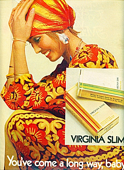 1971  Virginia slims cigarettes ad (Image1)