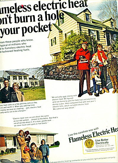 1968 -  Flameless Electric heat ad (Image1)