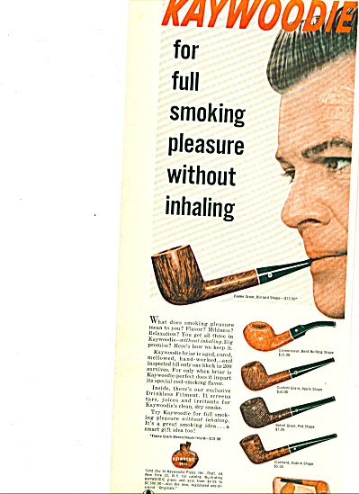 1960 -  Kaywoodie pipes ad (Image1)