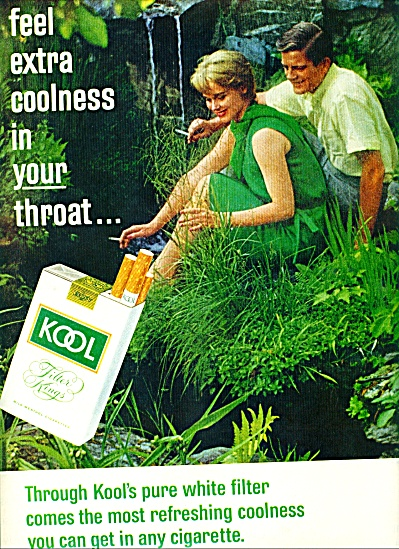 1965   Kool Cigarettes AD Man - Woman Refresh (Image1)