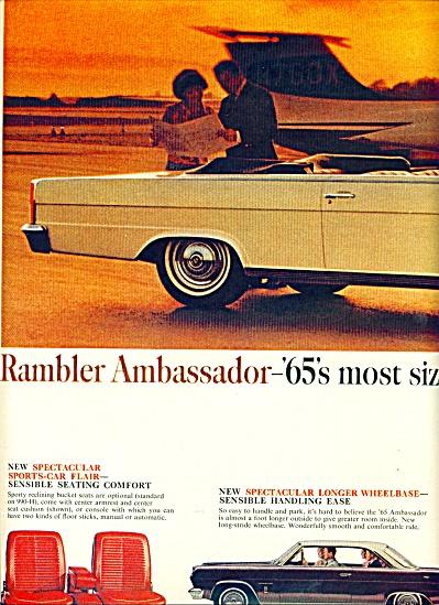 1965 - Rambler Ambassador ads (Image1)