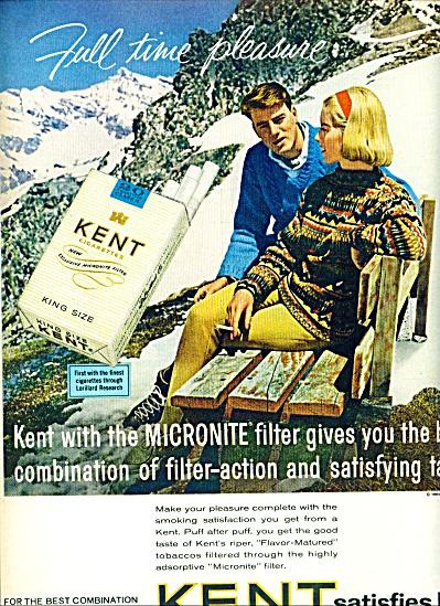 1964 - Kent king size cigarettes ad (Image1)