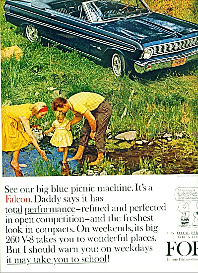 1964 - Ford Falcon automobile ad (Image1)