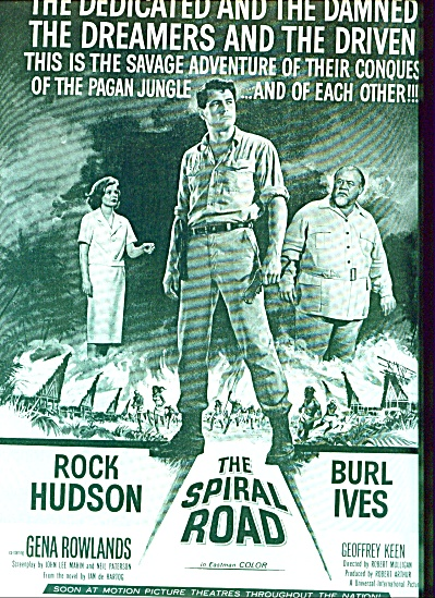 1962 -  Movie:  The Spiral Road - ROCK HUDSON (Image1)