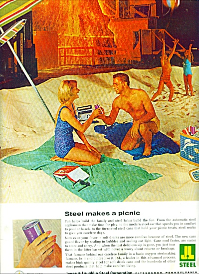 1962 -  Jones & Laughlin Steel Corporation ad (Image1)