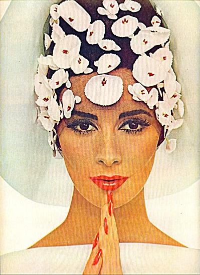 1964 - Revlon's LaDolce AD Model WILHELMINA (Image1)