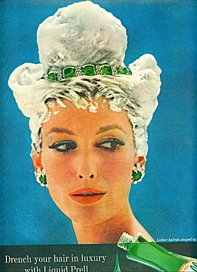 1960 - Prell Shampoo AD MODEL w/ JEWELS (Image1)