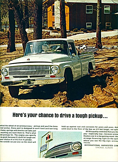 1966 - International harvester pickup truck (Image1)