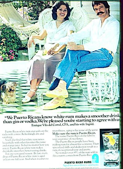 1980 - Puerto Rican Run AD - Vila Del Corral (Image1)