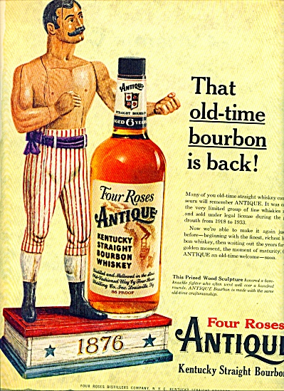 1959 -  Four roses antique bourbon ad (Image1)