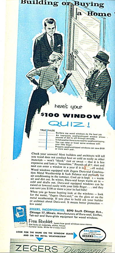 1956 -  Zegers dura seal windows ad (Image1)