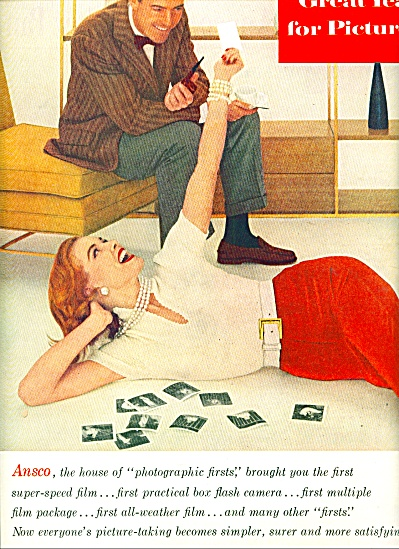 1956 - Ansco House of photographic firsts ad (Image1)