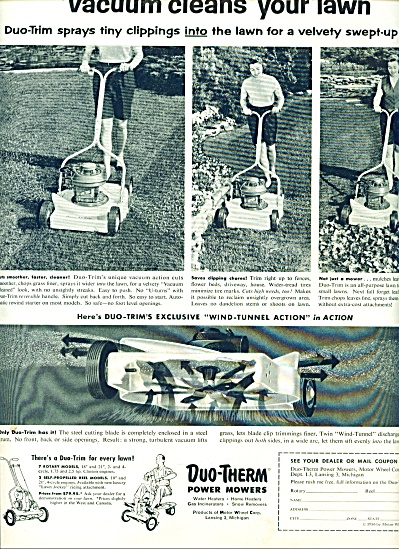 1956 -  Duo-Therm power mowers ad (Image1)