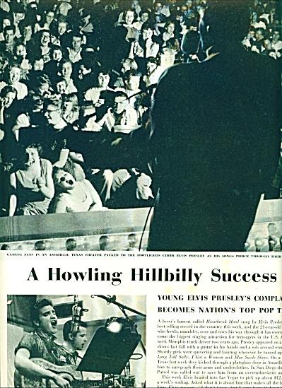 1956 -  ELVIS PRESLEY -howling hillbilly (Image1)