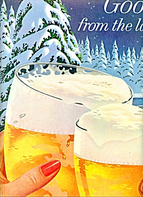 1956 -  Hamm's the beer refreshing ad (Image1)