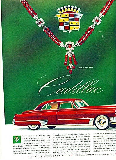 1949 - Cadillac automobile for 1949 (Image1)