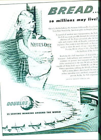 1949 -  Douglas aircraft ad (Image1)
