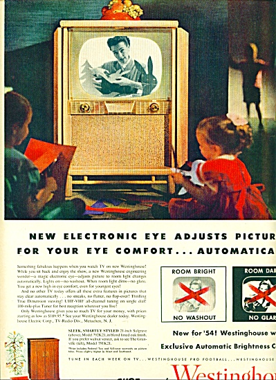 1953 -  Westinghouse t elevision ad (Image1)