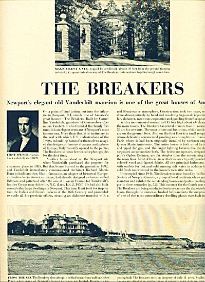 1951 - THE BREAKERS - Vanderbilt mansion (Image1)