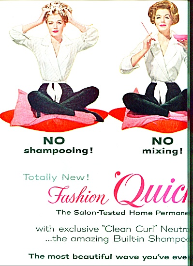 1959 - Richard Hudnut FASHION QUICK Perm AD (Image1)
