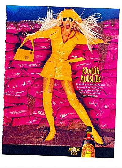 2000 - Kahlua Mudslide ad (Image1)