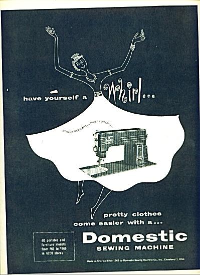 1953 -  Domestic Sewing machine ad (Image1)