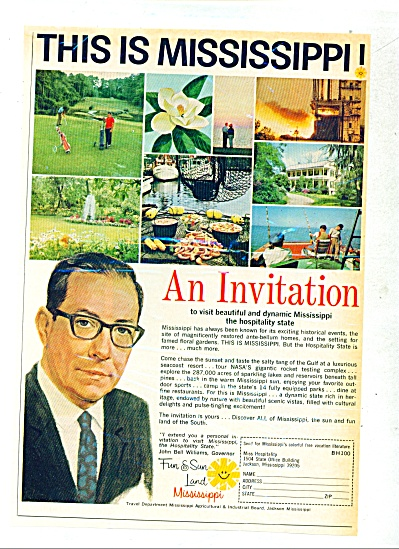 1968 - This is Mississippi ad (Image1)